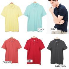 Soliver Polo Shirt / Kaus Pria Branded - Esv5xt