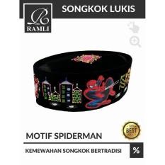 Top 10 Songkok Peci Lukis Anak Motif Spiderman Online