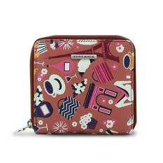 Sophie Paris Dompet Wanita Import Branded Dusty Wallet W1517D1 - Dusty Pink