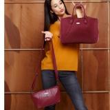 Jual Sophie Paris Selesneva Bag Tas Selempang Wanita Maroon 1Set 2Pcs Online