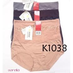 Sorella Panty Semi Korset Nyaman dipakai Seharian (AbuMuda/AbuTua/Pink)
