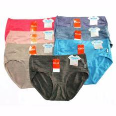 Jual Beli Online Sorex 6 Pcs Celana Dalam Wanita Art 15022 Sorex Melange Collection