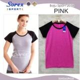 Tips Beli Sorex Baju Sport Senam Olahraga 2078 Pink