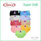 Diskon Sorex Celana Dalam Wanita Type 1251 Random Color 3 Pcs Akhir Tahun
