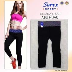 Harga Sorex Celana Sport Ua 017 Pants 7 8 Legging Olahraga Senam Yoga Abu Hijau Indonesia