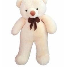 Souvenir kado hadiah Boneka Beruang Jumbo UKURAN XL JUMBO Putih