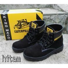 Jual Beli Online Sp Sepatu Caterpillar Safety Boots Hitam