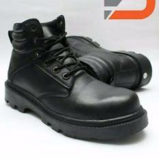 Spartan Sepatu boots safety pria / sepatu kerja casual- Hitam