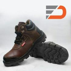 Spartan - Sepatu Safety Boot Hiking Touring Asli Kulit