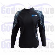Promo Special Edition Alat Snorkeling Godive Long Sleeve Rash Guard Sl B013
