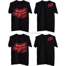 Special Order Kaos T Shirt Fox Couple