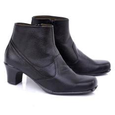 Special Price Sepatu Formal Wanita Kulit Asli 258 - Hitam