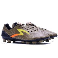Specs Accelerator Fury Gold Yellow Black  Sepatu Sepak bola