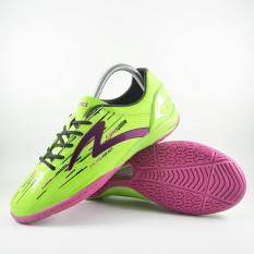 Specs Accelerator Lightspeed In Green Pink Black  Sepatu Futsal