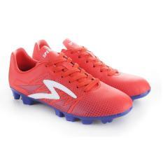 Specs Apache FG Red Poppy Naval Blue White  Sepatu Sepak Bola