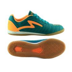 Model Specs Horus Dark Charcoal Yellow Sepatu Futsal Terbaru