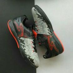 Specs Metasala Combat (Futsal) - Cool Grey/Black/Emperor Red