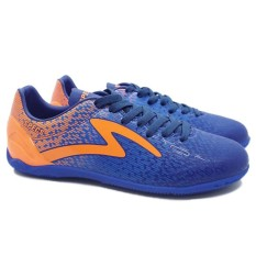 Specs Photon In Navy Tulip Blue Mango Orange | Sepatu Futsal