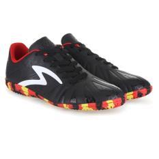 Jual Specs Tomahawk In Black White Red Sepatu Futsal Branded Original