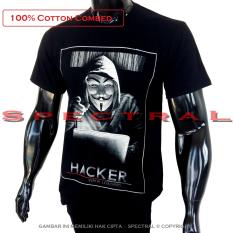 Toko Spectral Kaos Distro T Shirt Fashion 100 Soft Cotton Combed 30S Pria Wanita Cewe Cowo Baju T Shirt 3D Terbaru Baru Jaman Now Kekinian Animasi Seni Gambar Anonymous Animus Hacker Komputer Alogaritma Program Programer Superhero Kartun Atasan Pakaian Terlengkap Dki Jakarta