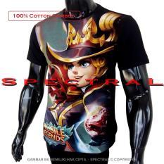 Spectral - Kaos Mobile Legend HARLEY MAGE T-Shirt Distro Fashion 100% Cotton Combed 30s Pria Wanita Cewe Cowo Baju 3D Terbaru Kekinian Jaman Animasi Gambar Legends MobileLegend Polos Lengan Bagus Keren Bandung Murah Anime Kartun Superhero Atasan Pakaian