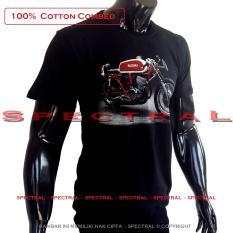 Spectral - Kaos Distro T-Shirt Fashion 100% Soft Cotton Combed 30s Pria Wanita Cewe Cowo Baju T – Shirt 3D Terbaru Baru Kekinian Animasi Tulisan Gambar Suzuki Harley Davidson Motor Gede Moge Otomotif Jadul Racing Komunitas Balap Jaman Now Atasan Pakaian