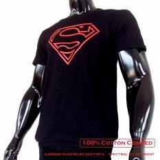 Toko Spectral Kaos Distro T Shirt Distro Fashion 100 Soft Cotton Combed 30S Kaos Pria Kaos Fashion Baju Distro T Shirt Gambar Superman Kartun Marvel Superhero Sablon Plastisol Atasan Pria Wanita Katun Simple Keren Cowo Cewe Pakaian Distro Kaos Hitam Spectral