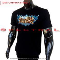 Spectral - Kaos LOGO Mobile Legend T-Shirt Distro Fashion 100% Cotton Combed 30s Pria Wanita Cewe Cowo Baju 3D Terbaru Kekinian Animasi Gambar Legends  MobileLegend Polos Jakarta Bandung  Lengan Keren Murah Anime Kartun Superhero Atasan Pakaian