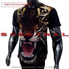 Spectral - Kaos Distro T-Shirt Fashion 100% Soft Cotton Combed 30s Pria Wanita Cewe Cowo Baju T – Shirt 3D Terbaru Baru Kekinian Animasi Gambar Harimau Macan Singa Kucing Besar Hewan Binatang Seram Horror Jahat Sadis Kartun Superhero Atasan Pakaian