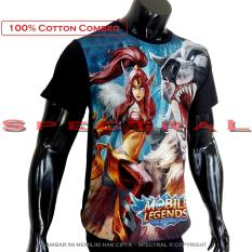 Spectral - Kaos Distro T-Shirt Fashion 100% Soft Cotton Combed 30s Pria Wanita Cewe Cowo Baju TShirt 3D Terbaru Baru Kekinian Animasi Gambar Mobile Legends  MobileLegend Moba Game Lengan Keren Bandung Murah Legend Anime Kartun Superhero Atasan Pakaian