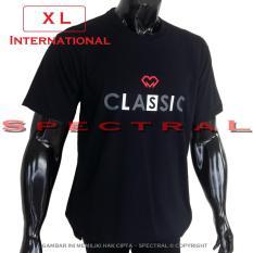 Diskon Besarspectral Kaos Distro Xl International 100 Soft Cotton Combed Xl Besar Kaos Jumbo T Shirt Fashion Kaos Besar Tulisan Gambar Ukuran Besar Baju Xl Kaos Xl Polos Gambar Sablon Atasan Pria Wanita Simple Casual Sport Halus Cowo Cewe Pakaian Distro Classic