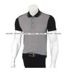 Harga Spectral Kaos Kerah Polo Shirt Fashion Garis Salur 03 L Xl Atasan Pria Wanita Berkerah Kancing Keren Satu Set
