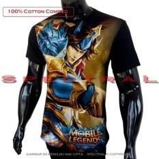 Spectral Kaos Mobile Legend Zilong T Shirt Distro Fashion 100 Cotton Combed 30S Pria Wanita Cewe Cowo Baju 3D Terbaru Kekinian Jaman Animasi Gambar Legends Mobilelegend Polos Lengan Bagus Keren Bandung Murah Anime Kartun Superhero Atasan Pakaian Long Dki Jakarta Diskon
