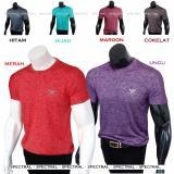 Spectral Kaos Polos Motif Tulisan Merek Kecil Random L Xl 6 Warna Katun Rayon Pria Wanita Fashion Atasan Shirt Polo Keren Mantap Merah Hitam Cokelat Hijau Maroon Ungu Terbaru