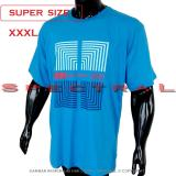 Spectral Kaos Distro Super Big Size Xxxl 100 Soft Cotton Combed Jumbo Bigsize T Shirt Fashion Ukuran Besar Polos Celana Atasan Pria Wanita Katun Bapak Orang Tua Gemuk Gendut Simple Sport Casual Halus Baju Cowo Cewe Pakaian Super Size 3L Labirin Biru Original