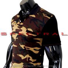 Spectral - Polo Shirt Army Slim Fit M L XL T-Shirt Pria Wanita Kaos Polo Pakaian Pria Fashion Pria Kaos Kerah Baju Berkerah Kaos Pria Kaos Cowo Atasan Kasual Kaos Distro Sport Topi Jaket Celana Sepatu Keren Tni Bomber Pilot Loreng Armi Abri Motif Tentara