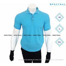 Spesifikasi Spectral Polo Shirt Polos M L Xl Lengan Pendek Baju Kaos Kerah Pakaian Berkerah Atasan Pria Wanita Cewe Cowo Lacos Pique Lacost Fashion Simple Keren Simpel Formal Casual Elegan Korean Bagus Murah Biru Muda Dan Harganya