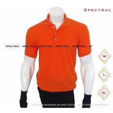 Harga Spectral Polo Shirt Polos M L Xl Lengan Pendek Kaos Kerah Pakaian Berkerah Atasan Pria Wanita Cewe Cowo Lacos Pique Lacost Fashion Simple Keren Simpel Formal Casual Korean Bagus Murah Oranye Orange Oren Dan Spesifikasinya