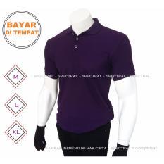 Beli Spectral Polo Shirt Polos M L Xl Lengan Pendek Kaos Kerah Pakaian Berkerah Atasan Pria Wanita Cewe Cowo Lacos Pique Lacost Fashion Simple Keren Simpel Formal Casual Korean Bagus Murah Ungu Online Dki Jakarta