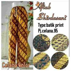 Spesial!! Daster Celana Kolor Aftab Panjang Dewasa Santai Harian Bali Solo Batik