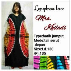 Daster Longdress Lowo Rempel Zindeg Batik Baju Hamil Jumbo Kado  MuslimIDR94860. Rp 94.860 d01ff54d6e