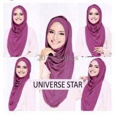 Spesial [ Nia Hijab Instan US ] Hijab Wanita Muslim Ungu Laris