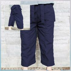 CelanaKU - Celana Cingkrang - Sirwal - Tidak Isbal - Boxer - Ukuran M - Biru Dongker