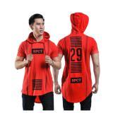 Jual Spicatto Sp 171 13 Kaos Pria Cotton Ombed Keren Merah Branded