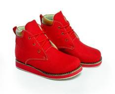 Jual Spicatto Sp 578 02 Sepatu Boot Casual Anak Perempuan Sintetis Lucu Dan Modis Merah Murah