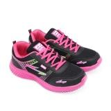 Jual Spike Sepatu Sneakers Sepatu Lari Kasual Dan Sepatu Kets Rpk 5591 Black Fushia Size 36 40 Murah Jawa Timur