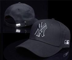 Olahraga Topi Baru York Yankees Bisbol Topi Logo Bertali Belakang Topi Uniseks Pria Wanita MLB Indah Luar Ruangan (Hitam) -Internasional