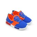 Spesifikasi Sport Sepatu Sneakers Anak 1706 238 Blue Size 26 31 Terbaik