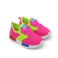 Jual Sport Sepatu Sneakers Anak 1706 238 Pink Size 26 31 Di Bawah Harga