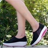 Sports Casual Kain Bersih Shake Sepatu Sepatu Wanita Bottom Side Tumit Sepatu Wanita Bernapas Kaki Intl Diskon Akhir Tahun